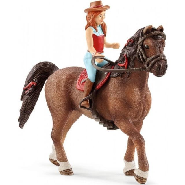Obrázek produktu Schleich 42514 Zrzka Hannah a kůň Cayenne