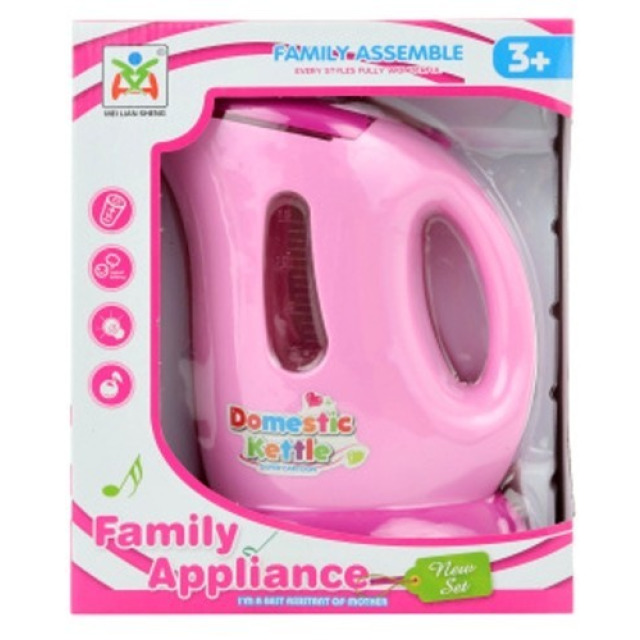 Obrázek produktu Dětská rychlovarná konvice růžová, světlo, zvuk