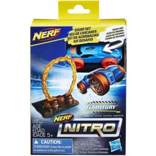 Obrázek 1 produktu NERF Nitro náhradní autíčko a překážka Flamefury, Hasbro E1269