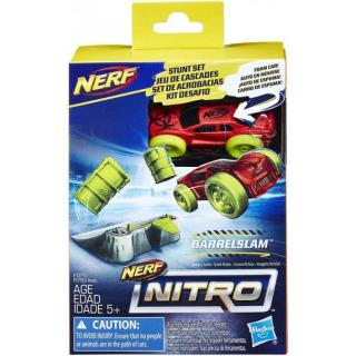 Obrázek 1 produktu NERF Nitro náhradní autíčko a překážka Barrelslam, Hasbro E1271