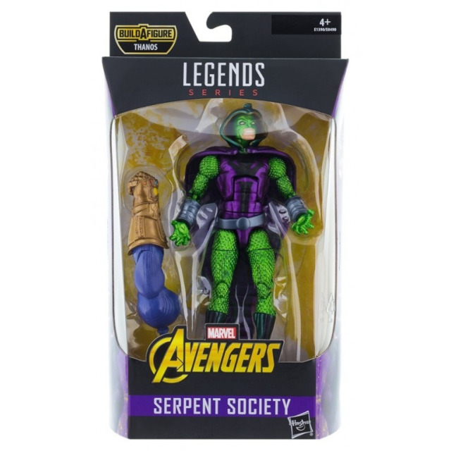 Obrázek produktu Avengers Legends Series prémiová figurka Serpent Society, Hasbro E1390