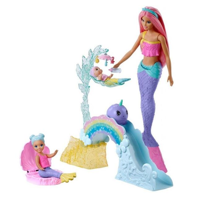 Obrázek produktu Barbie Dreamtopia herní set s mořskou vílou, Mattel FXT25