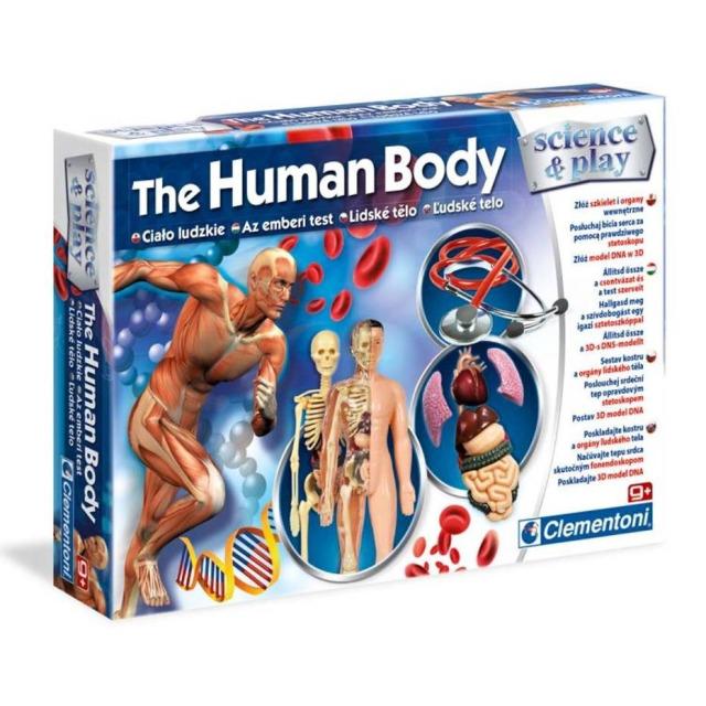 Obrázek produktu Clementoni Dětská laboratoř Sada lidské tělo