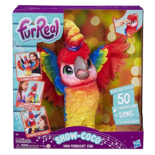 Obrázek produktu FurReal Friends Mluvící papoušek , Hasbro E0388