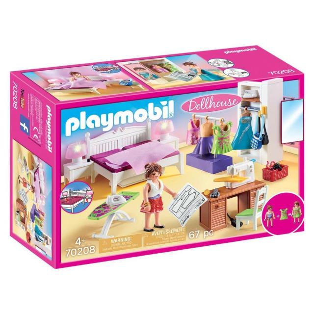 Obrázek produktu Playmobil 70208 Ložnice s šicím koutem