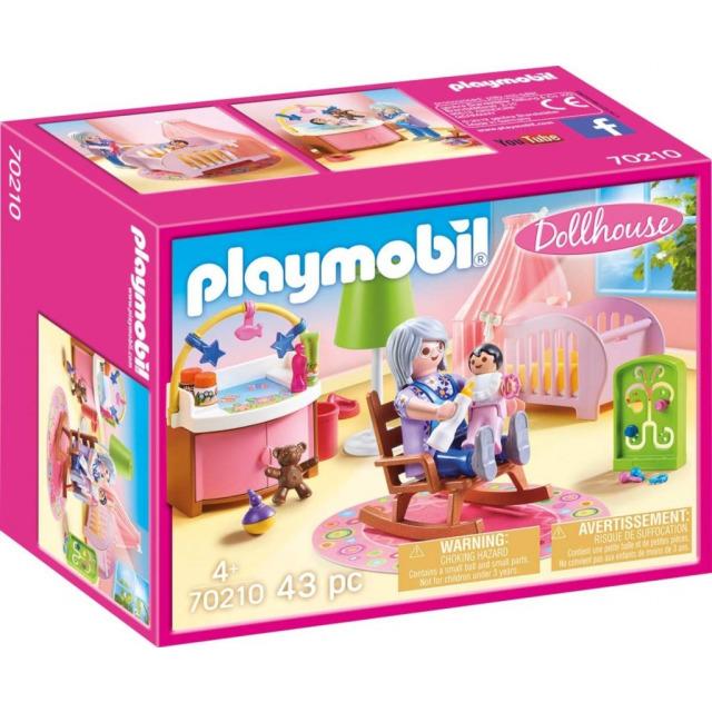 Obrázek produktu Playmobil 70210 Dětský pokoj kojence