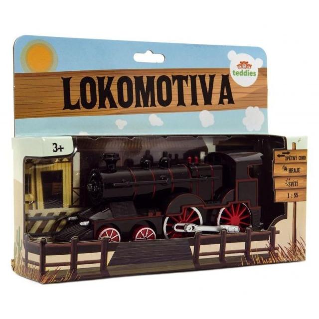Obrázek produktu Lokomotiva kovová se světlem a zvukem