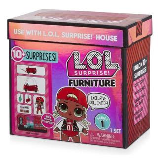 Obrázek 1 produktu MGA L.O.L. SURPRISE Nábytek s panenkou: Autosalon & M.C. Swag
