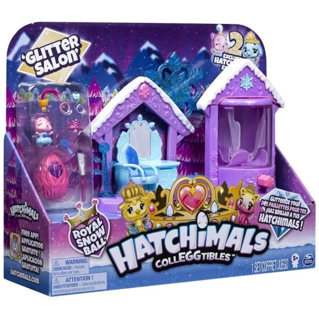 Obrázek produktu Hatchimals Třpytivý královský salón