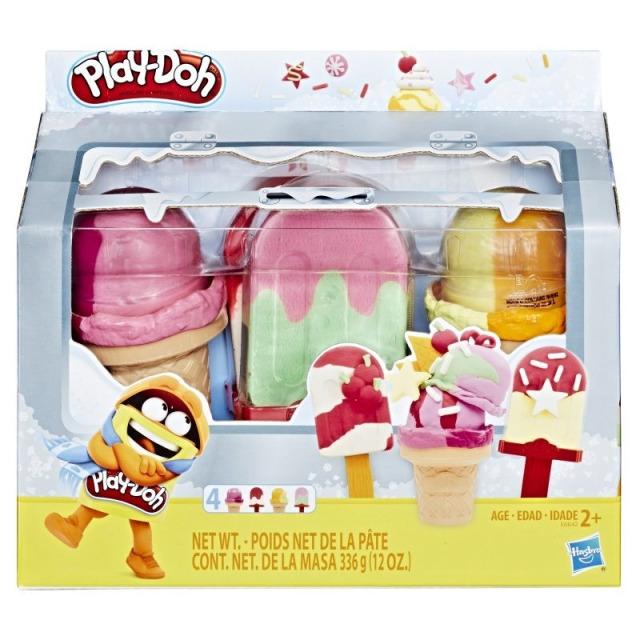 Obrázek produktu Play Doh Modelína jako zmrzlina v chladničce, Hasbro E6642