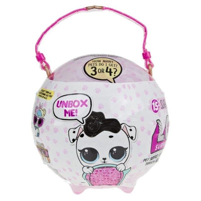 Obrázek produktu MGA L.O.L. Surprise! Biggie Pets Velké zvířátko - Pejsek