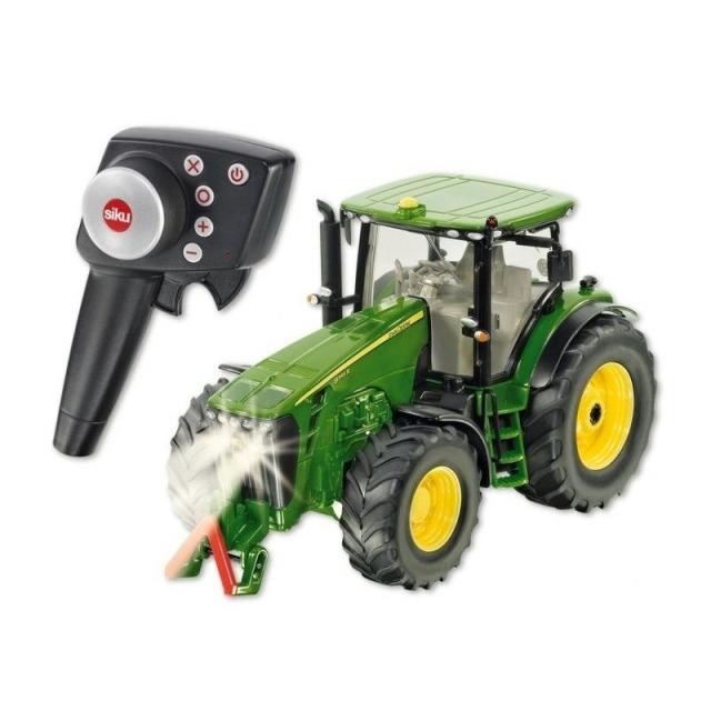 Obrázek produktu SIKU Control - limitovaná edice traktor John Deere 8345R + balíkovačka 1:32
