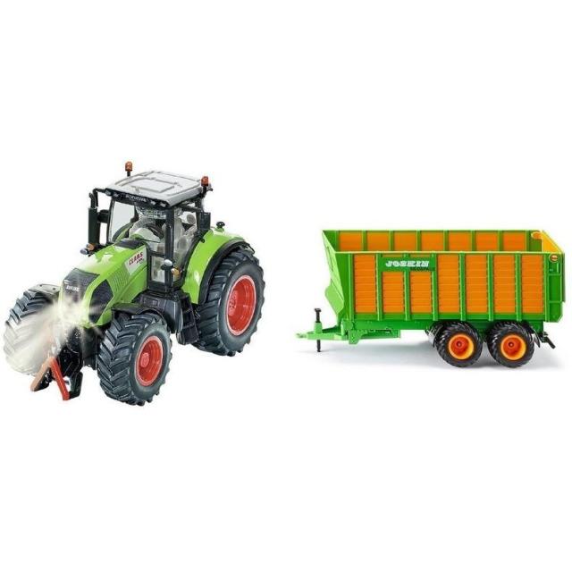 Obrázek produktu SIKU Control - limitovaná edice traktor Claas Axion 850 + silážní vůz Joskin 1:32