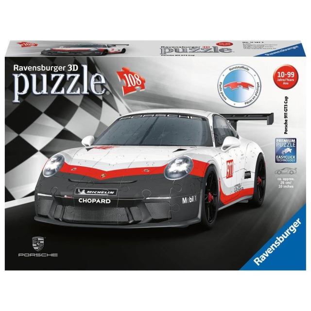 Obrázek produktu Ravensburger 11147 Puzzle 3D Porsche GT3 Cup 108 dílků