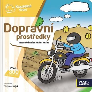 Obrázek 1 produktu Albi Kouzelné čtení Minikniha - Dopravní prostředky