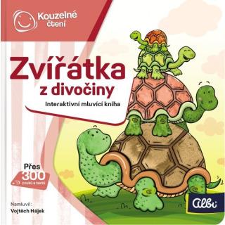 Obrázek 1 produktu Albi Kouzelné čtení Minikniha - Zvířátka z divočiny