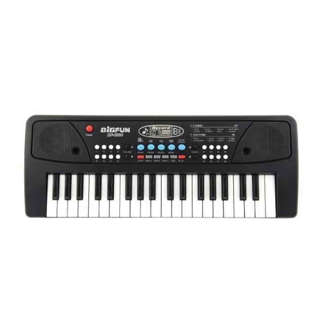 Obrázek produktu Bigfun BF-430C dětské Piánko 37 kláves, napájení USB, MP3 přehrávač + mikrofon