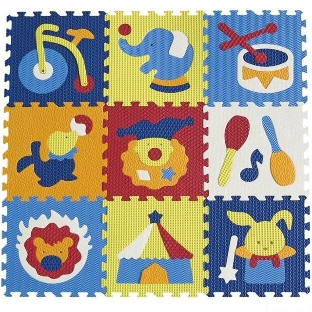 Obrázek produktu Pěnové puzzle cirkus 32x32x1cm