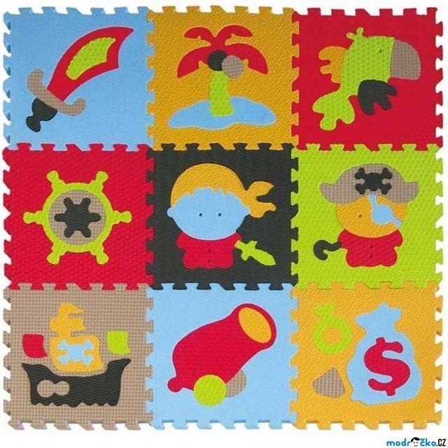Obrázek produktu Pěnové puzzle Pirát 32x32x1cm