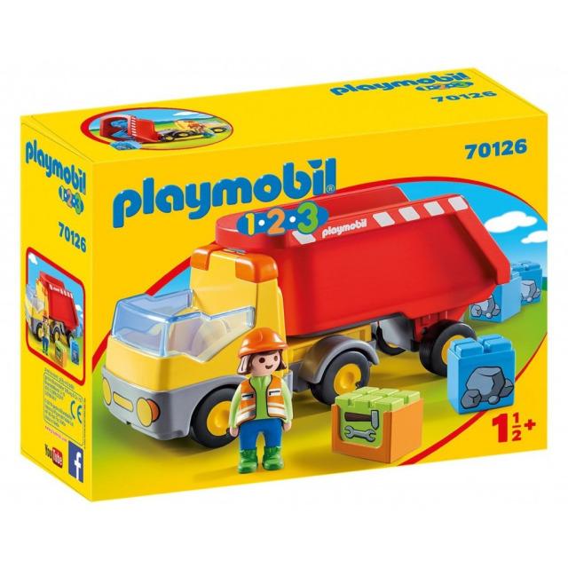 Obrázek produktu Playmobil 70126 Sklápěč (1.2.3)