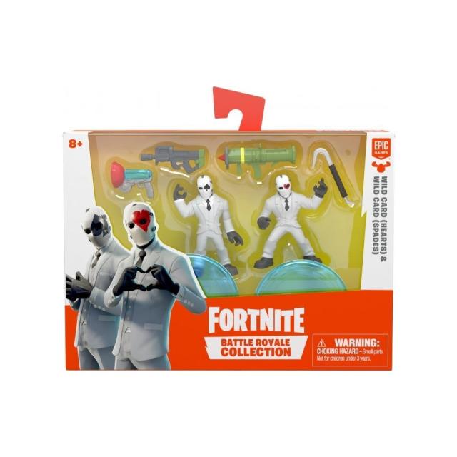Obrázek produktu Fortnite Battle Royal sada sběratelských figurek Hearts a Spades, 5 cm