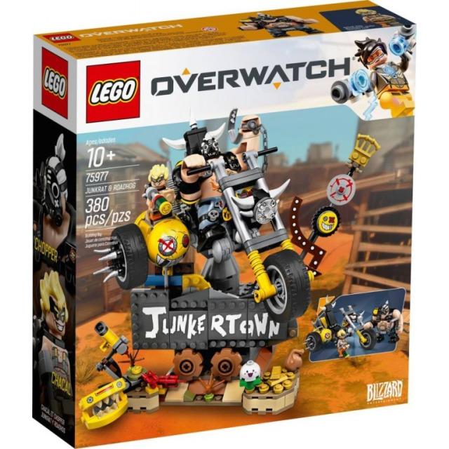 Obrázek produktu LEGO Overwatch 75977 Junkrat a Roadhog