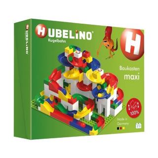 Obrázek 1 produktu HUBELINO Kuličková dráha MAXI 213 ks, set s kostkami