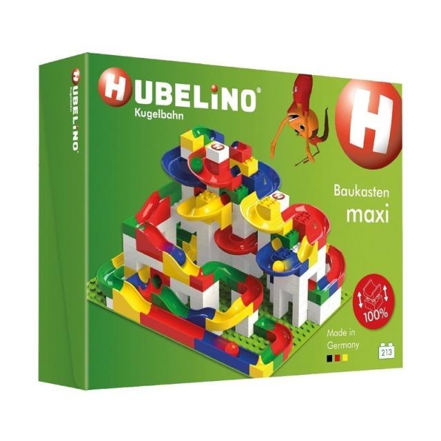 Obrázek produktu HUBELINO Kuličková dráha MAXI 213 ks, set s kostkami