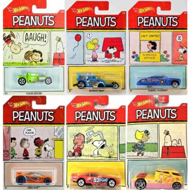 Obrázek produktu Hot Wheels Angličák Peanuts, Mattel DWF03