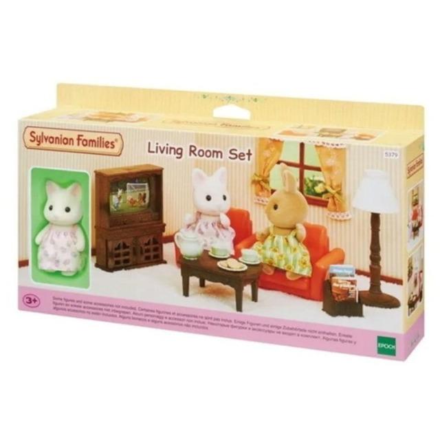 Obrázek produktu Sylvanian Families 5379 Obývací pokoj květinové kočičky