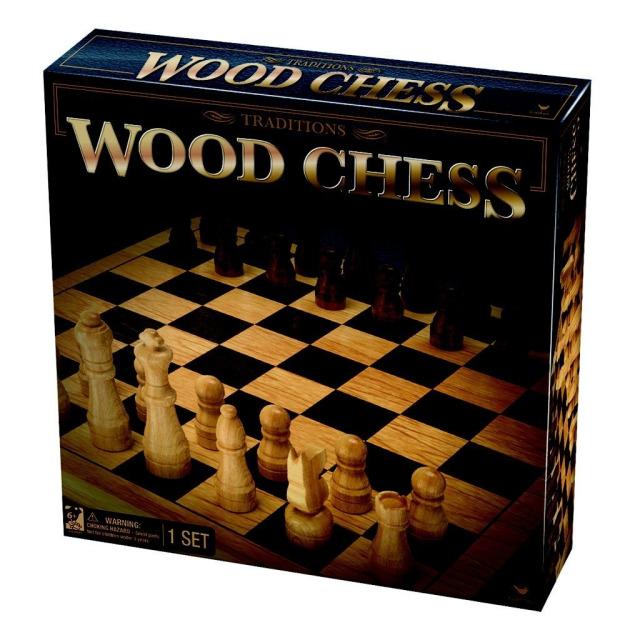 Obrázek produktu Spin Master Klasické dřevěné šachy