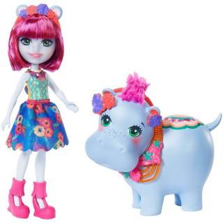 Obrázek 1 produktu ENCHANTIMALS Hedda Hippo a hroch Lake, Mattel GFN56