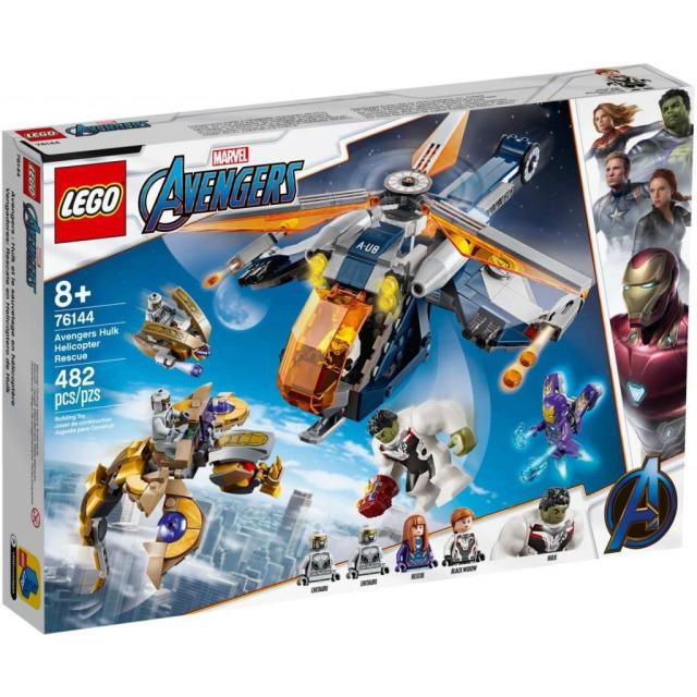 Obrázek produktu LEGO Super Heroes 76144 Avengers: Hulk a výsadek vrtulníkem