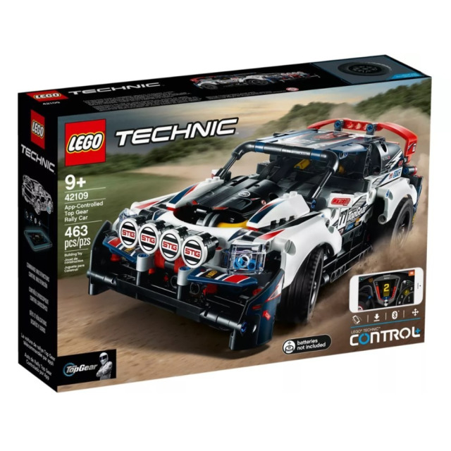 Obrázek produktu LEGO TECHNIC 42109 RC Top Gear závodní auto