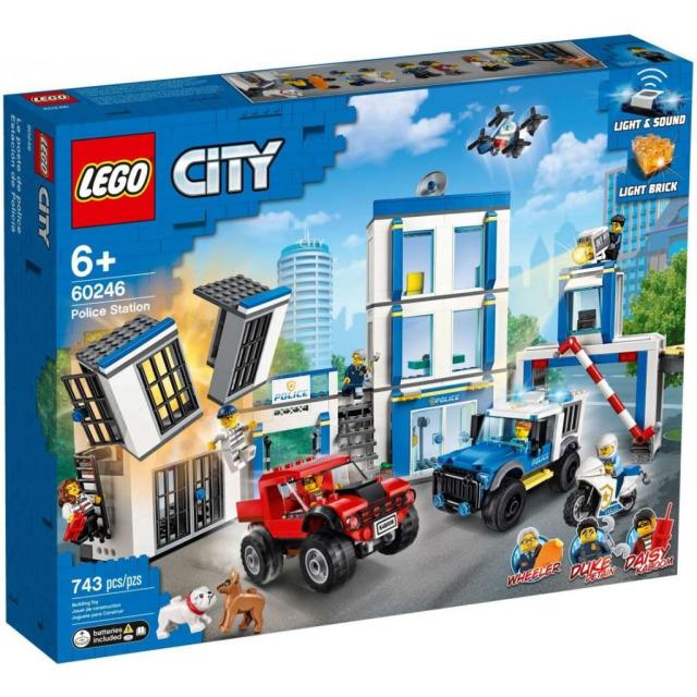 Obrázek produktu LEGO CITY 60246 Policejní stanice