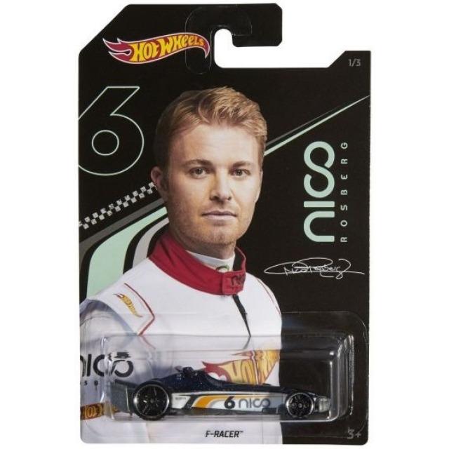 Obrázek produktu Hot Wheels angličák 1:64 Nico Rosberg F-Racer, Mattel GGC35