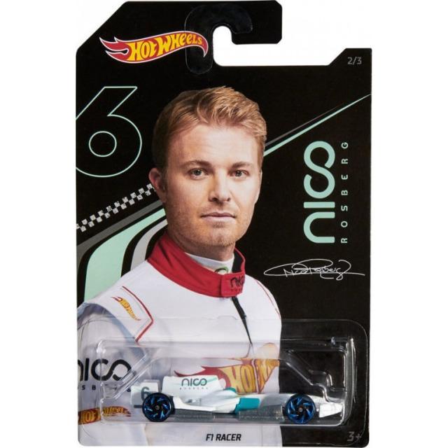 Obrázek produktu Hot Wheels angličák 1:64 Nico Rosberg F1 Racer, Mattel GGC36
