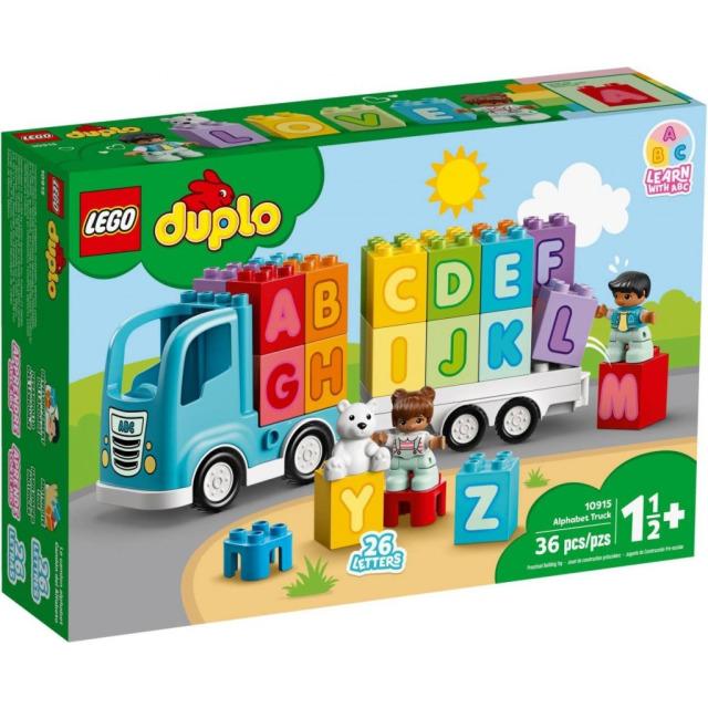 Obrázek produktu LEGO DUPLO 10915 Náklaďák s abecedou