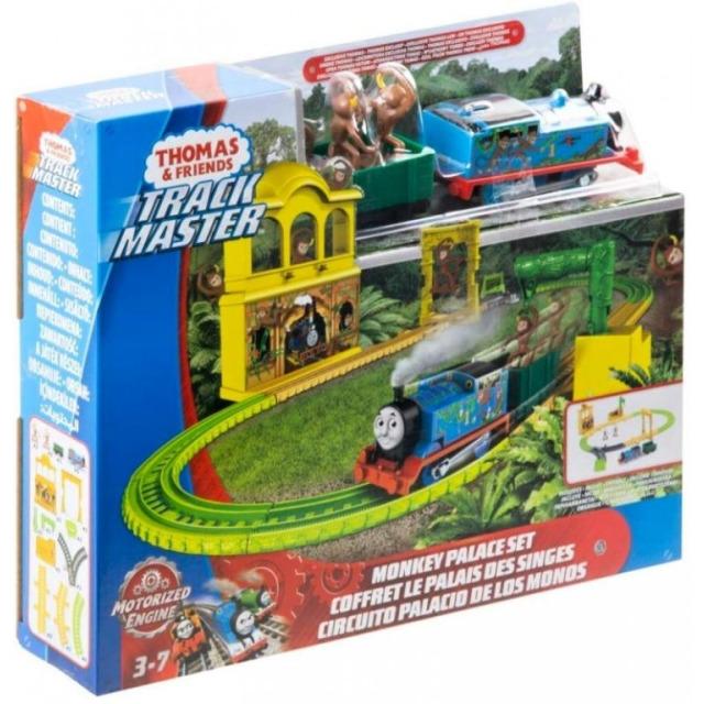Obrázek produktu Fisher Price Opičí dráha s mašinkou Tomáš, Mattel FXX65
