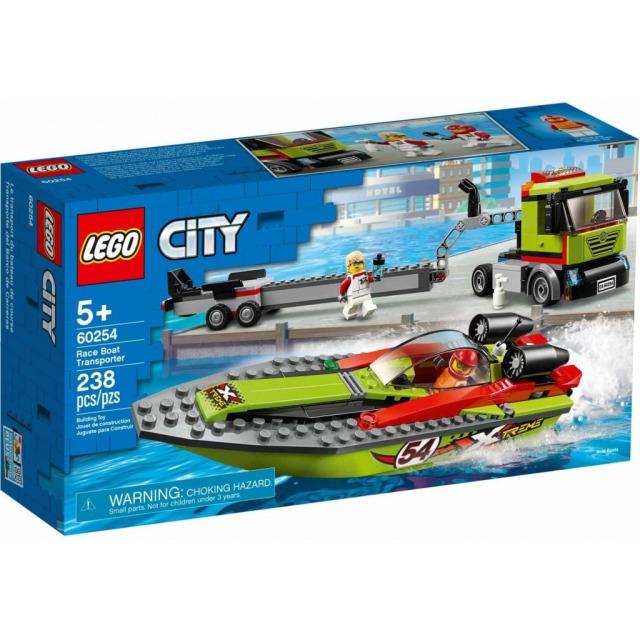 Obrázek produktu LEGO CITY 60254 Přeprava závodního člunu