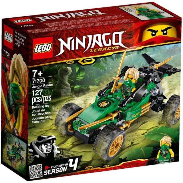 Obrázek produktu LEGO Ninjago 71700 Bugina do džungle