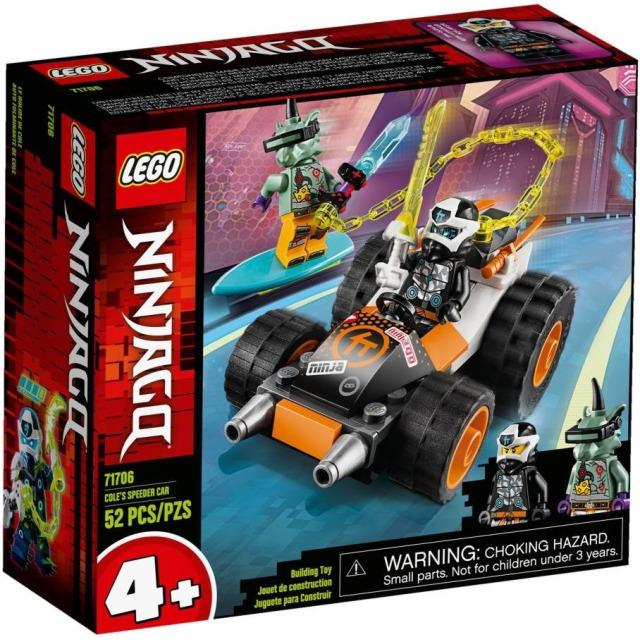 Obrázek produktu LEGO Ninjago 71706 Coleovo rychlé auto