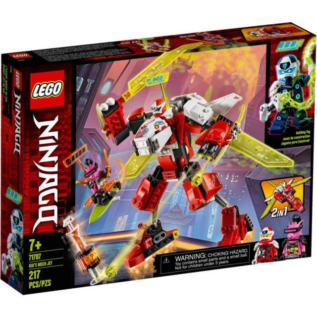 Obrázek produktu LEGO Ninjago 71707 Kai a robotický tryskáč