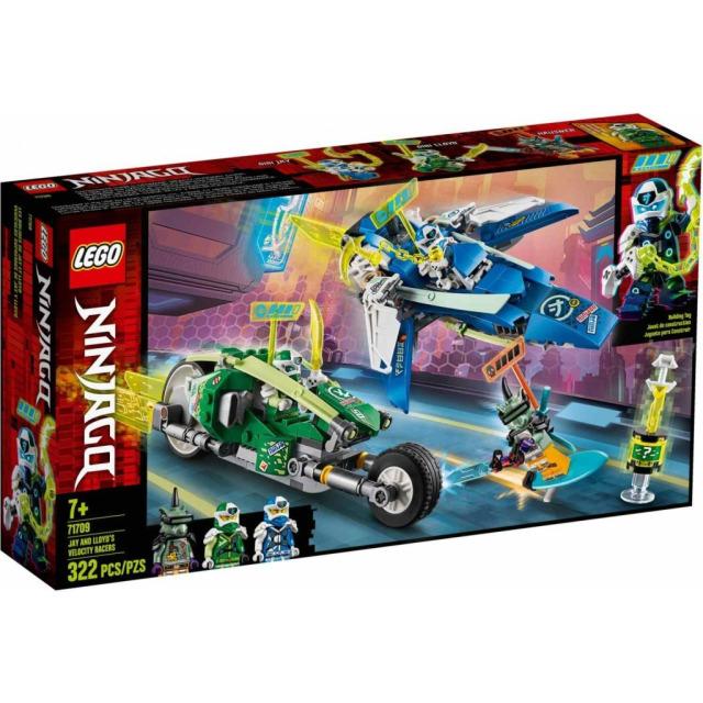 Obrázek produktu LEGO Ninjago 71709 Rychlá jízda s Jayem a Lloydem