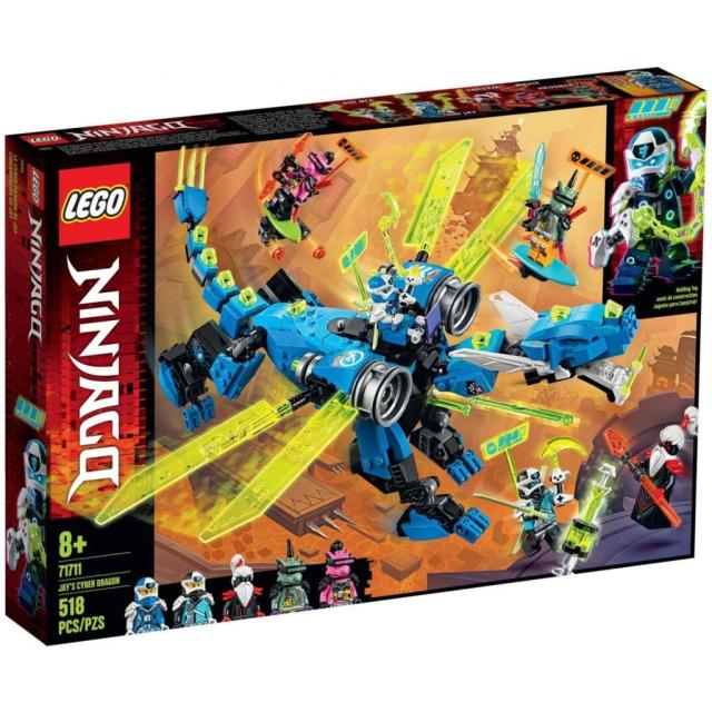 Obrázek produktu LEGO Ninjago 71711 Jayův kyberdrak