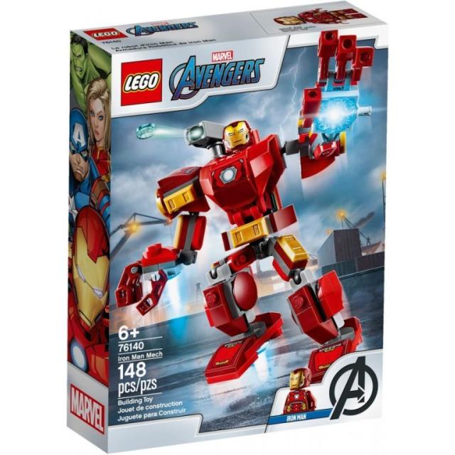 Obrázek produktu LEGO Super Heroes 76140 Iron Manův robot