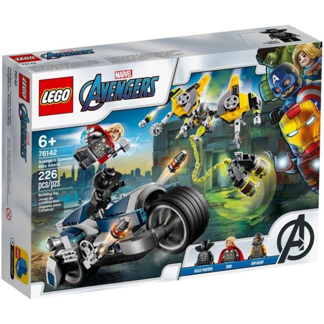 Obrázek produktu LEGO Super Heroes 76142 Avengers: Zběsilý útok na motorce