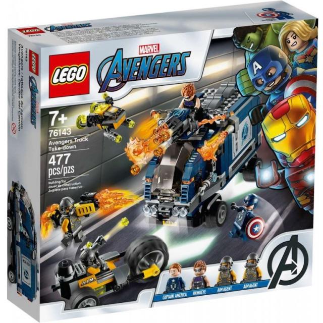 Obrázek produktu LEGO Super Heroes 76143 Avengers: Boj o náklaďák