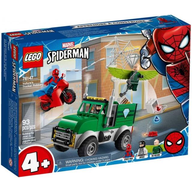 Obrázek produktu LEGO Super Heroes 76147 Vulture a přepadení kamionu