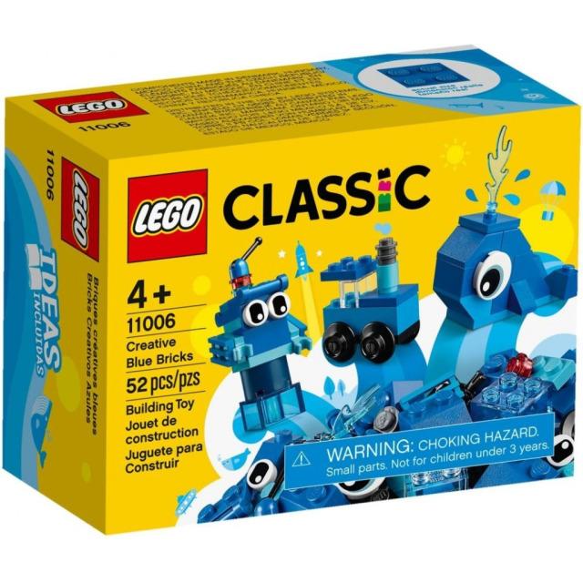 Obrázek produktu LEGO Classic 11006 Modré kreativní kostičky